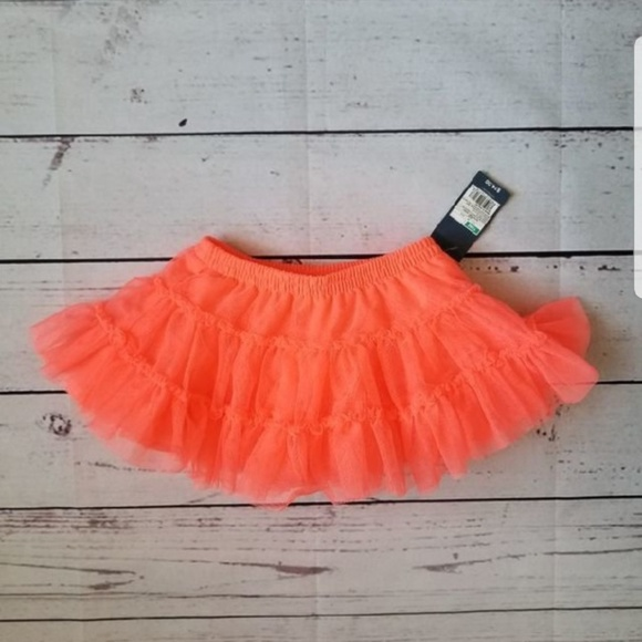 Tutu Ballet Retro Pink New OshKosh Toddler Girl Tulle Skirt NWT Size 3T 5T